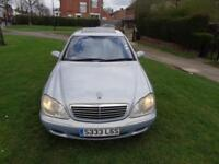2000 Mercedes-Benz S320 3.2 auto [DR OWNER+FSH+NEW MOT+LEATHER+GREAT ENGINE!]