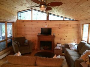 Quiet getaway in cottage country ~Sandy waterfront ~Premium lake