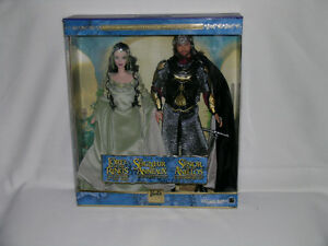 Lord of the Rings Arwen And Aragon Barbie Giftset