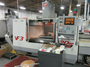 HAAS VF-3 CNC VERTICAL MACHINING CENTER, 2000'