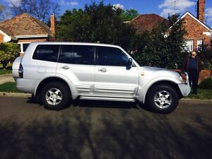 2002 Mitsubishi Pajero Wagon Eaglemont Banyule Area Preview