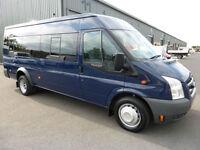 2008 Ford Transit TREND 430 XLWB 17 seat Minibus, VERY LOW MILES, SUPERB ALROUND