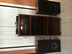 Toshiba stereo system c/w record player