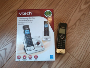 VTECH two handset cordless answering system telephone set