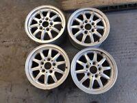 "BMW E36 E46 Style27 15"" wheels"