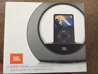 JBL radial micro superior loudspeaker for iPod dock
