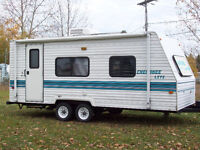 Roulotte Cherokee Lite 21 pieds 1998