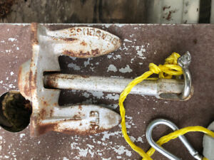 Wanted: older style 5lb boat anchor