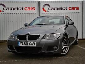 2010 BMW 320D 2.0 DIESEL AUTOMATIC COUPE M SPORT 184BHP 12M MOT 6M WARRANTY