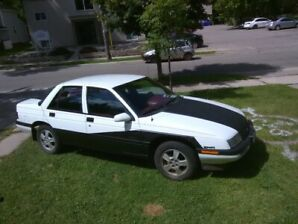 Low kms. Chevy Corsica for sale