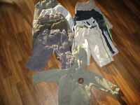 12 months boy clothes/vetements garcons lot