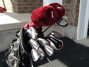 Wilson left hand golf club set