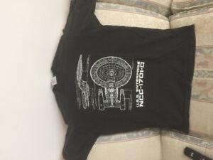 Official 1993 Star Trek TNG Next Generation Enterprise T-shirt M
