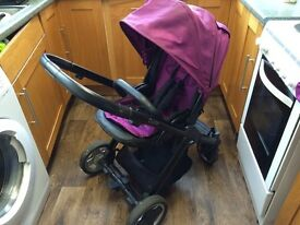 Oyster pushchair and carry cot 2 in 1 system