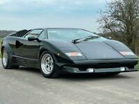 1990 Lamborghini Countach 25th anniversary Petrol Manual