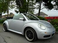 VOLKSWAGEN BEETLE 1.6 2006 CONVERTIBLE COMPLETE WITH M.O.T HPI CLEAR INC