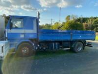 Left hand drive Scania 142h, curtainsider, manual gearbox, air con, on springs