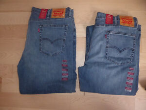2 NEW with tags Levis 514 jeans, size 38 x 34 $20ea or both $30