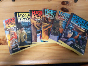 6 Hardy Boys Books by Franklin W Dixon