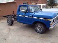 1978 Ford f100 custom NEED GONE make an offer