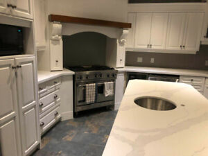 Kitchen cabinets/Vanity/Renovation/Countertops-up to 10% off