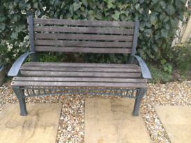 Refurbished Vintage Garden Bench.