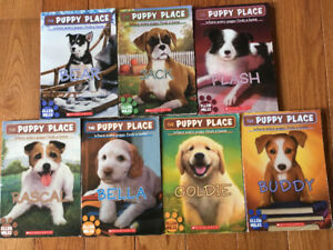 7 Puppy Place Children's Books