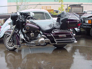 25 CRASHED HARLEYS FOR PARTS 1996 AND UP MOSTLY BAGGERS FEW SOFT Strathcona County Edmonton Area image 3