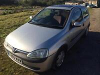 2001 VAUXHALL CORSA 1.0 COMFORT ONLY 67000 MILES NEW MOT