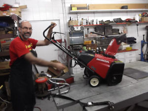 Experienced Service for all Honda Snowblowers