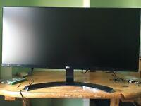 """LG 34UM68‑P ‑ 34"""" IPS LED Monitor ‑ 21:9"""