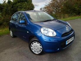 NISSAN MICRA 1.2 30th ANNIVERSAY £30 RFL 5DR HATCH ONLY 31800 MILES, Blue, Man