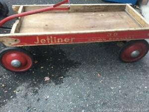 Vintage Little Red Wagon.
