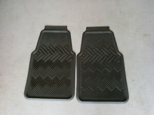 Car rubber mats - two front mats