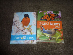 Birds & Blooms Hardcover Books $25