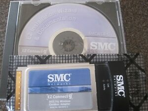 SMC 802.11g Wireless Cardbus Adapter