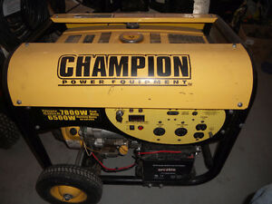 generatrice champion 6500w
