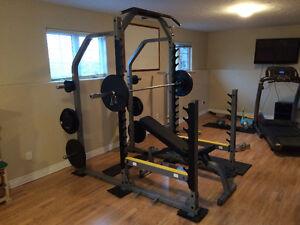 Body solid SRM1000 squat rack
