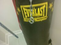 95 lbs punching bag for boxing