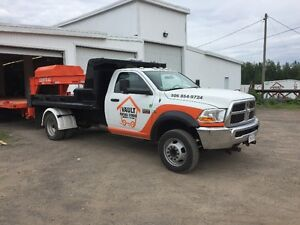 5500 Ram ,pto hydraulic 11' DUMP BODY, 4 x 4, only 65,000 klms,