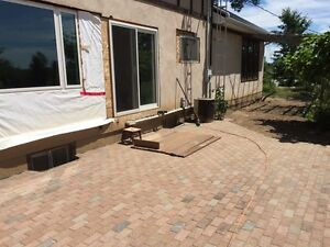 Looking for red interlock pavers stone. Also some blue
