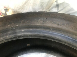 4 used montblanc winter tire