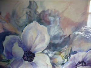 "Floral, Still Life, Original Watercolor by Gina Boyle ""Poppies"" Stratford Kitchener Area image 6"