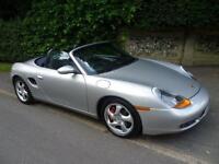 2002 Porsche Boxster 3.2 986 S Convertible 2dr