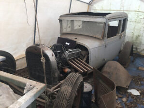 1929 Model A Ford (¾-ish finished project)