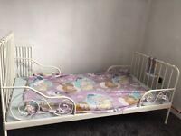 Kids bed and mattress.