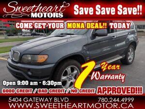 2003 BMW X5 X5 4dr AWD 4.4i       2 years free warranty