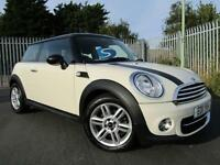 2011 Mini Hatchback 1.6 Cooper D Turbo Diesel 36,000 Pepper White 3 door Hatc...