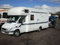 Autotrail Cheyenne 635SE with Smart car and Brian James trailer for sale