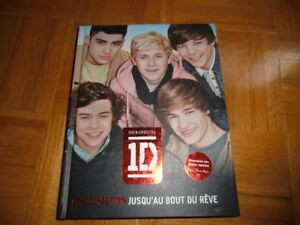 livre one direction neuf